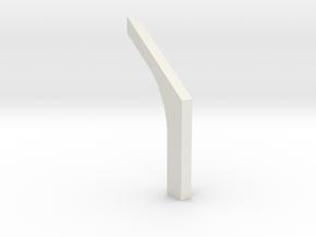 shkr020 - Teil 20 Stützmauerbogen außen filigran R in White Natural Versatile Plastic