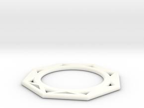 ring star in White Processed Versatile Plastic