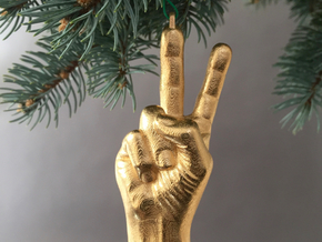 2015: Peace, Baby! in Polished Brass