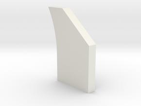 shkr061 - Teil 61 Stützmauerpfeiler breit durchbro in White Natural Versatile Plastic