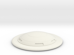 Saucer series 2001 in White Natural Versatile Plastic