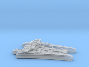 3788 Scale Maesron Bombardment Cruiser MGL in Smooth Fine Detail Plastic