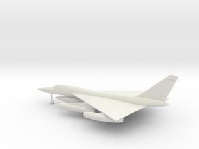 Convair B-58 Hustler in White Natural Versatile Plastic: 6mm