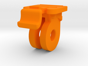 Low-Profile GoPro mount for Bontrager Ion 350/450  in Orange Processed Versatile Plastic