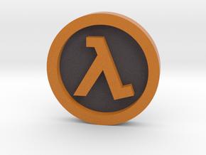 Half Life ® Token: Classic in Full Color Sandstone