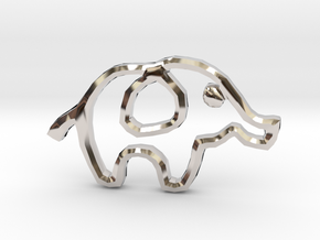 Republican's Elephant Symbol in Platinum