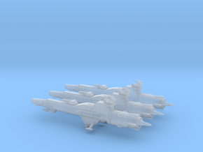 Geary Destroyer Squadron (68mm) in Smooth Fine Detail Plastic