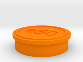 Yuneec H520 e50 cover in Orange Processed Versatile Plastic