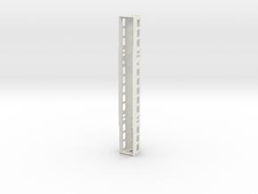 Plan U B scale 0 (1:45) in White Natural Versatile Plastic