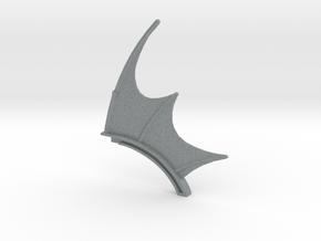 Power Scream spine in Polished Metallic Plastic