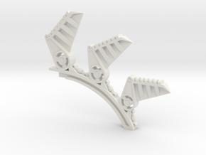Illusion spine in White Natural Versatile Plastic
