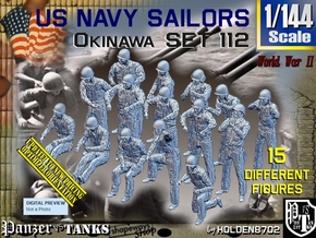 1/144 USN Okinawa set112 in Smooth Fine Detail Plastic