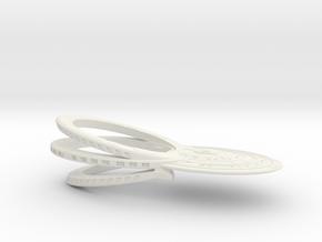 USS SETH Refit homage in White Natural Versatile Plastic