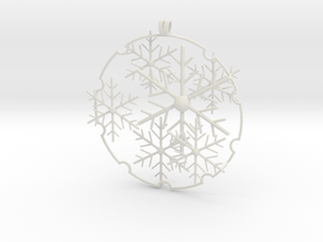Snowball 2017 (small version) in White Natural Versatile Plastic