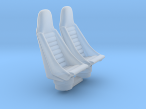 YT1300 FM 1/72 PILOT SEATS in Smooth Fine Detail Plastic
