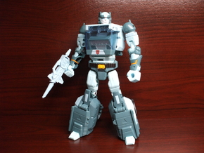 Musket Laser for TR Kup in White Processed Versatile Plastic
