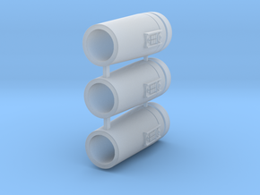 1:43/44 Scale SW Cylinders set in Smooth Fine Detail Plastic