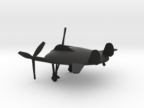 Vought V-173 Flying Pancake in Black Natural Versatile Plastic: 1:160 - N
