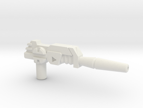 Jazz's Photon Rifle (PotP) in White Natural Versatile Plastic: Large