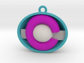 Colorado ornament purple/light blue in Full Color Sandstone