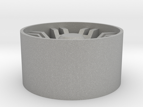 Gauntlet Wheel in Aluminum: 1:25