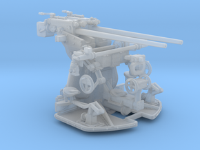 1/48 DKM 3.7cm 83 Twin Gun Mounting in Smooth Fine Detail Plastic