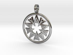 POWDER HORN in Premium Silver