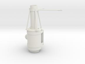Superliner-air-cleaner-LH in White Natural Versatile Plastic