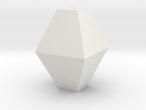 Anatase, 25 mm in White Natural Versatile Plastic