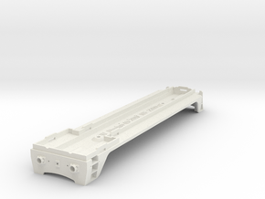 NS 2200 chassis. Scale 0 (1:45) in White Natural Versatile Plastic