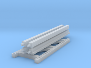1/64 2 High 10ft Pallet Rack Extension in Frosted Ultra Detail