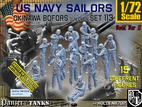 1/72 USN OKI Bofors Set113 in Smooth Fine Detail Plastic