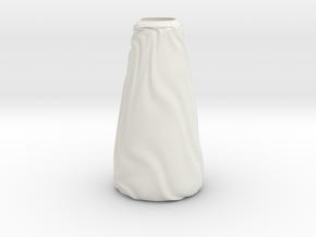 Vase Ist Los? in White Premium Versatile Plastic