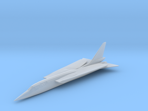 Republic TFX Fighter Proposal in Smooth Fine Detail Plastic: 6mm