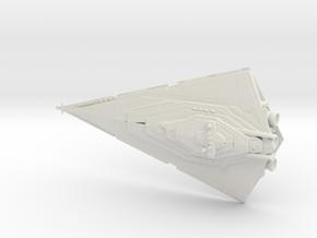 Resurgent-class Star Destroyer 1:20000 in White Natural Versatile Plastic