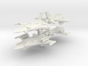 6mm Iron Falcon Interceptors (4pcs) in White Natural Versatile Plastic