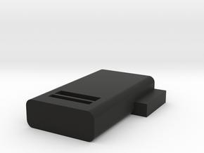 slide clip in Black Natural Versatile Plastic