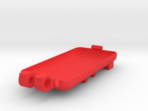 SPC cover i6-i7-i8 in Red Processed Versatile Plastic