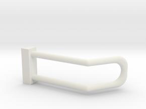 2002-2008 Dodge Ram Headlight Guard for Brushguard in White Natural Versatile Plastic: 1:25