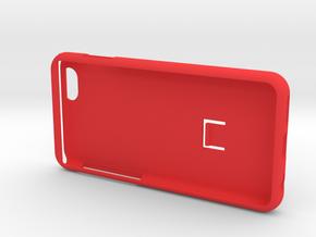 SPC case i6-i7-i8 in Red Processed Versatile Plastic