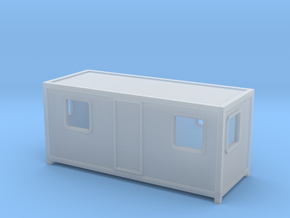 N Scale Site Office in Smooth Fine Detail Plastic