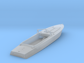 1/87th (H0) PG-117 motor boat in Smooth Fine Detail Plastic