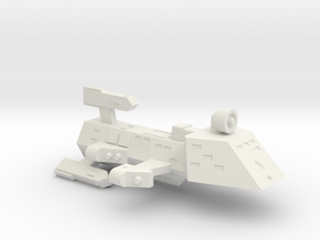 3125 Scale Kzinti Drone Frigate SRZ in White Strong & Flexible