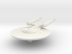 3788 Scale Federation New Light Cruiser (NCL) WEM in White Natural Versatile Plastic