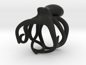 Octopus Ring 19mm in Black Premium Strong & Flexible