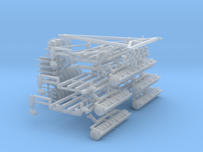1/64 Airseeder kit 58foot Part 1 of 2 in Smooth Fine Detail Plastic
