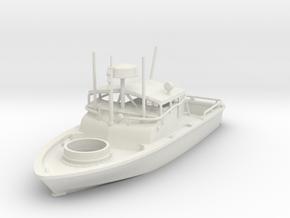 1/72 pbr patrol boat river WL in White Natural Versatile Plastic