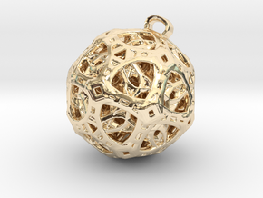 spectral jewel in 14k Gold Plated Brass