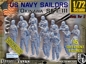 1/72 USN Okinawa set 111 in Smooth Fine Detail Plastic