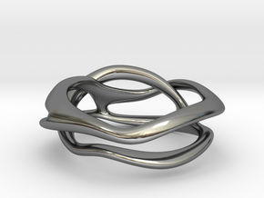 Terpsichore ring in Fine Detail Polished Silver: 3 / 44